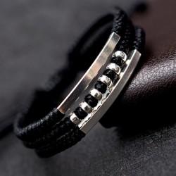 Engraving bracelet for men...
