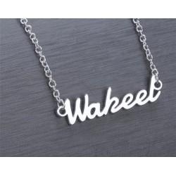 Name Halskette für Männer...