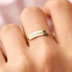 Anello personalizzato per...