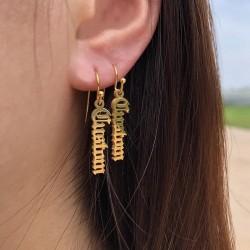Boucles d'oreilles prénom...