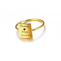 Beautifull custom ring with...