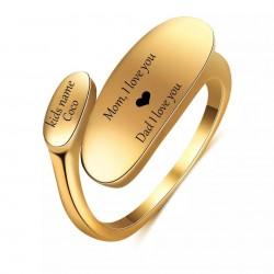 Precioso anillo ajustable...