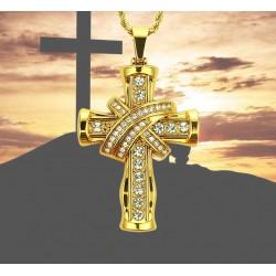 Halskette Kreuz aus Jesus...