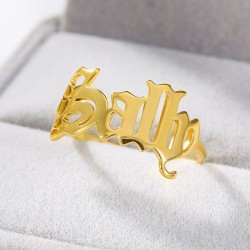 Personalized name ring...
