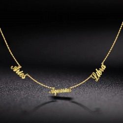 Three name necklace ideal...