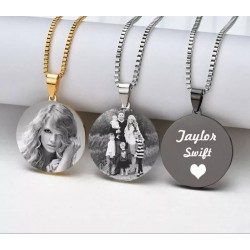 MY PHOTO AND TEXT NECKLACE...