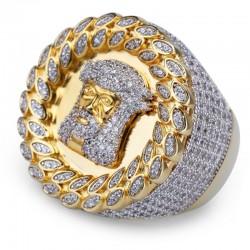 Vintage Punk Ring für...