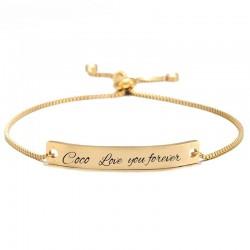 Joli bracelet personnalisé...