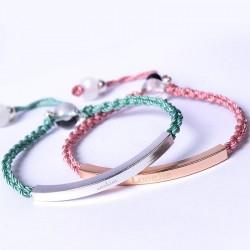 Bracelets à breloques avec...