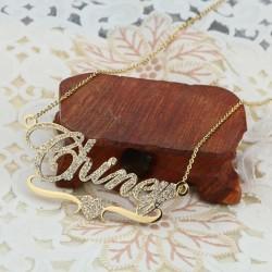 Brilliant name necklace...